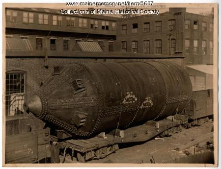 Soda digester for the S.D. Warren Paper Co.