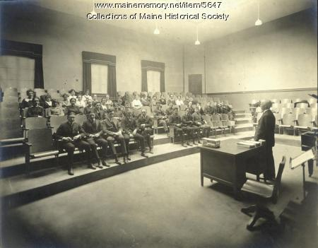 Lecture Hall, Portland High School, ca. 1920s