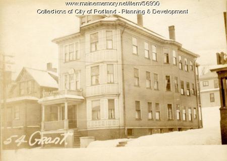 54-56 Grant Street, Portland, 1924