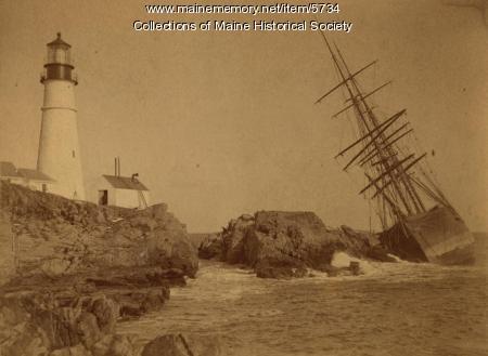 A.C. Maguire, Cape Elizabeth, 1886