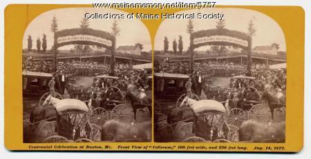 Buxton Centennial Celebration, 1872
