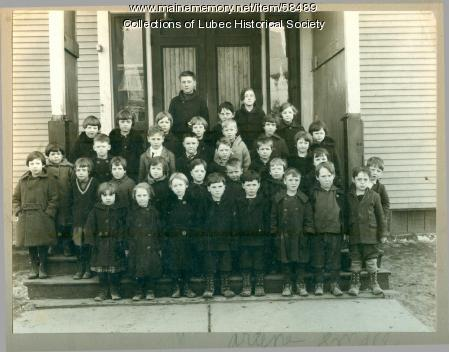 First graders, Lubec, ca. 1925