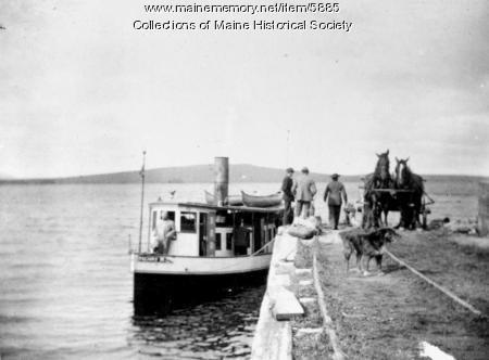 Steamer Henry M, Lily Bay, Moosehead Lake