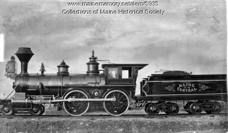Maine Central Railroad Locomotive 'Arthur Sewall'