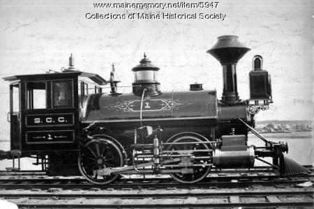 Steel Co. of Canada Railroad locomotive #1