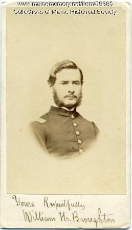 William Broughton, Portland, ca. 1862