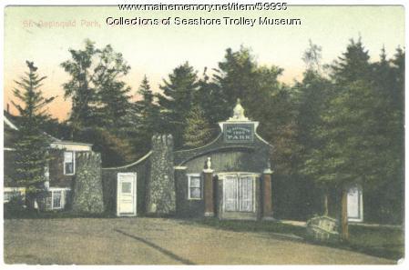 St. Aspinquid Park, York, 1908