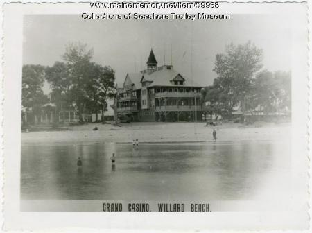Grand Casino, Willard Beach, South Portland, ca. 1897