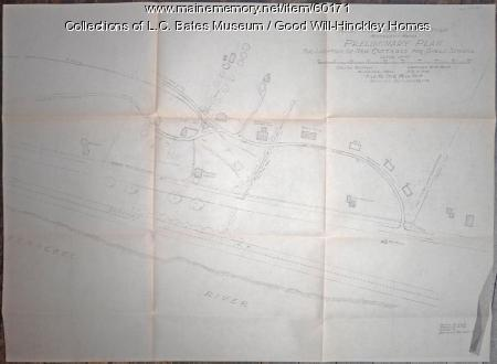 Good Will-Hinckley Campus drawings, 1928