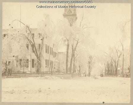 Cumberland Club, Portland, 1886