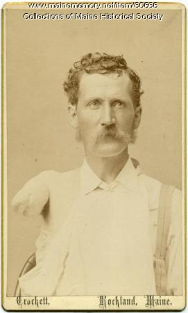 Charles A. Davis, Rockland, ca. 1870