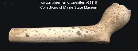 Clay Tobacco Pipe, Popham Colony, ca. 1607