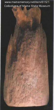 Post fragment, Popham Colony, ca. 1607