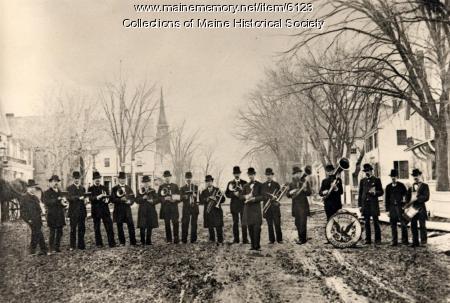 R.B. Hall's band, Richmond, ca. 1878