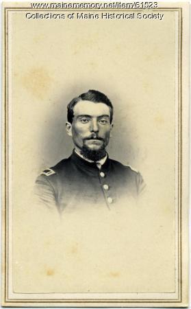 Lt. William H. Sturgis, Standish, ca. 1863