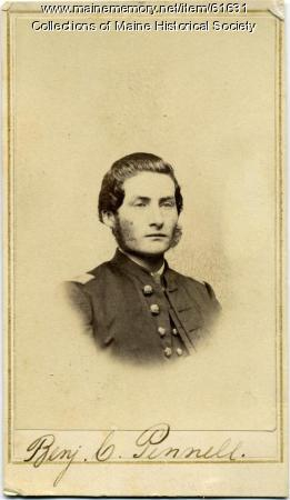 Capt. Benjamin C. Pennell, Portland, ca. 1863