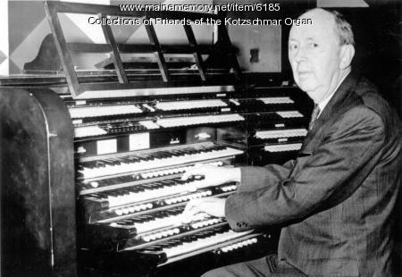 John E. Fay,  sixth municipal organist, Portland