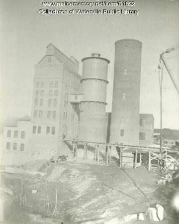 Hollingsworth & Whitney Company mill, Winslow, ca. 1900
