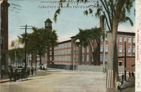 Pepperell Mills, Biddeford, ca. 1905