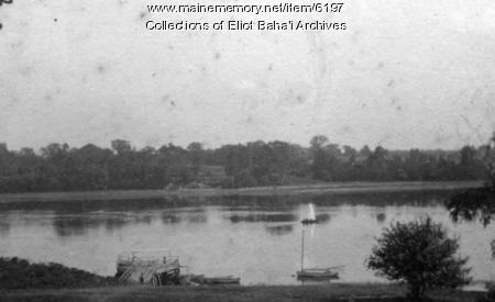 Hanscom Shipyard, Eliot, ca. 1900