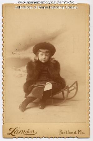 James Clarence Hamlen, Jr., 1889