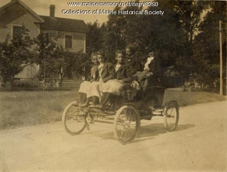 Stanley Steam Car, ca. 1903