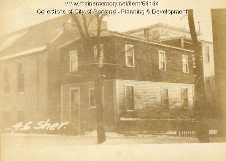 46 Sheridan Street, Portland, 1924
