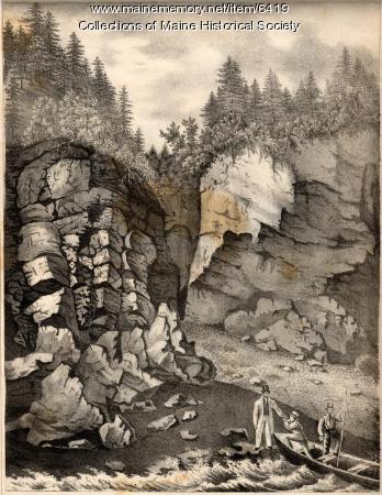 Slate, greenstone trap-rocks, Quoddy-Head, 1836