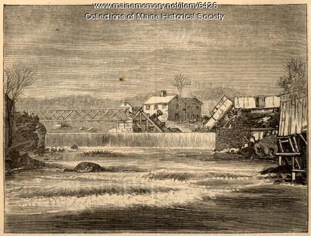Railroad disaster at Buckfield, April 27, 1869