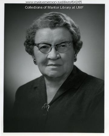 Agnes Mantor, Farmington, ca. 1955
