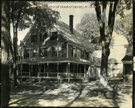 Palmer Hall, Farmington State Normal School, 1930