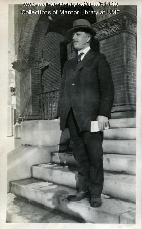 W.G. Mallett, Farmington State Normal School, ca. 1918