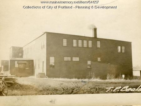 Morrill Street Portland 1924
