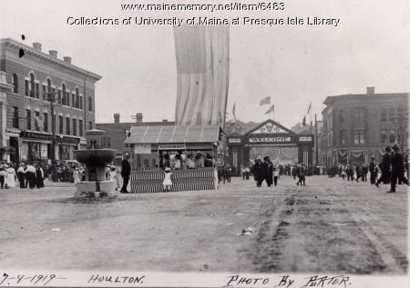 Victory Celebration, Houlton, 1919
