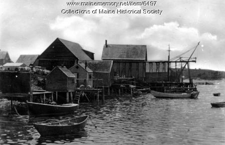 Fishing village, Orr's Island