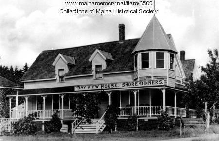 Bay View House, Orr's Island