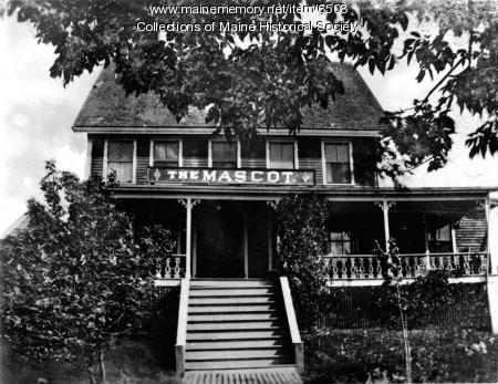 Mascot Hotel, Orr's Island, ca. 1900