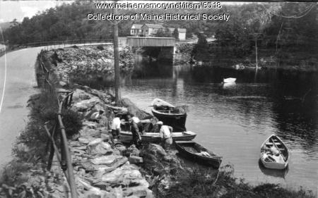 Lobstermen on Orr's Island, ca. 1930