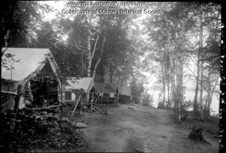 Tents, Rockwood, ca. 1930
