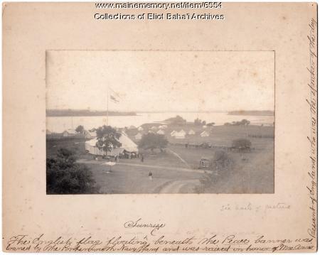 Green Acre's tent village