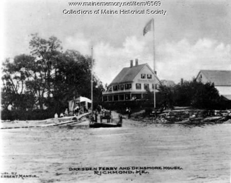 Dresden Ferry and Densmore House, Richmond, ca. 1920