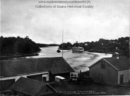 Steamer Kennebec, Richmond, ca. 1920
