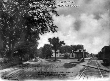 Pleasant Street, Richmond, ca. 1920