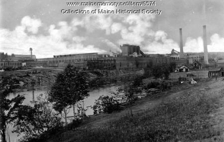 Great Northern Paper Co., Millinocket, ca. 1920