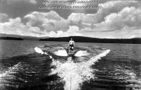 Kezar Lake, ca. 1950