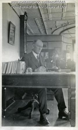 Arthur Thomas, Farmington State Normal School, ca. 1917