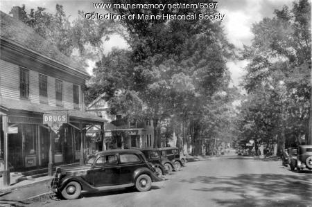 Main Street, Bethel, ca. 1935