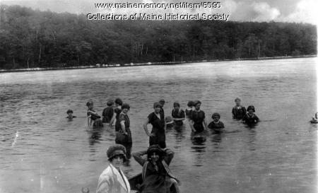 Summer camp, Naples, ca. 1930