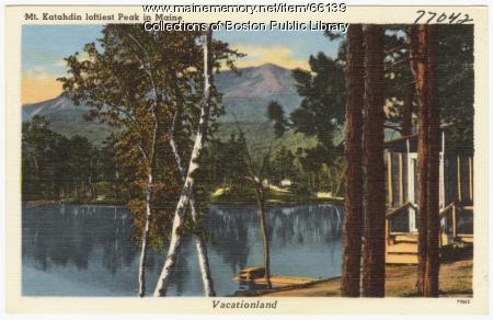 Mt. Katahdin, ca. 1938