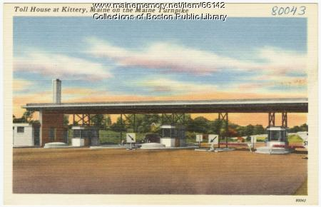 Turnpike toll house, Kittery, ca. 1947